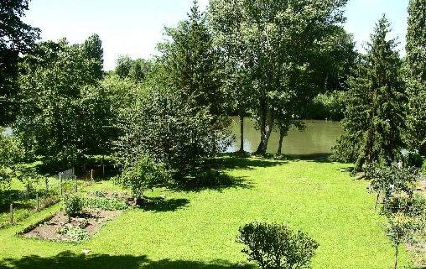 Location de vacances - Chambre d'hôtes à Andé - jardin comum gite eure