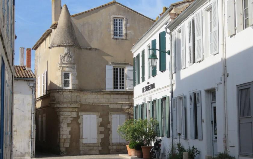 Location de vacances - Villa à Ars-en-Ré - Maison du sénéchal  Ars en Ré