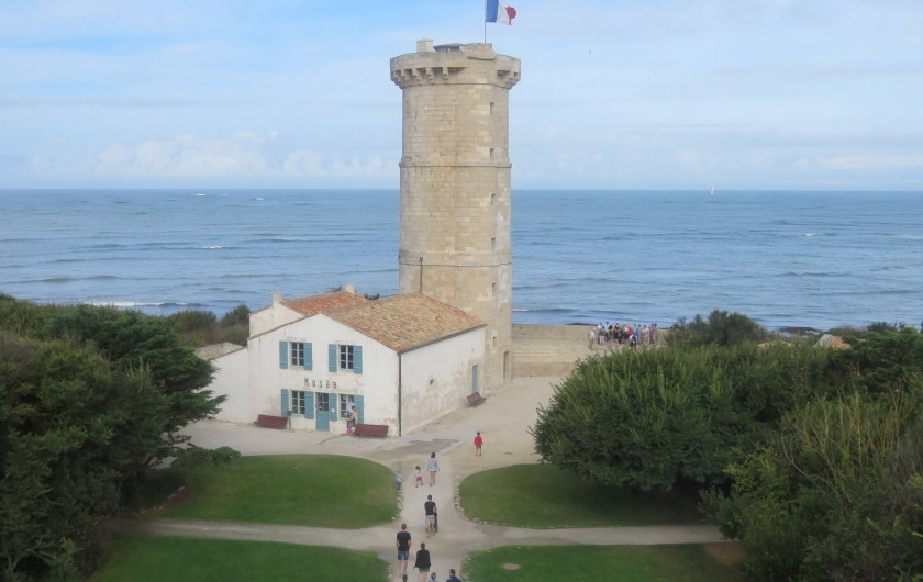 Location de vacances - Villa à Ars-en-Ré - Ancien phare des Baleines Saint Clément des baleines