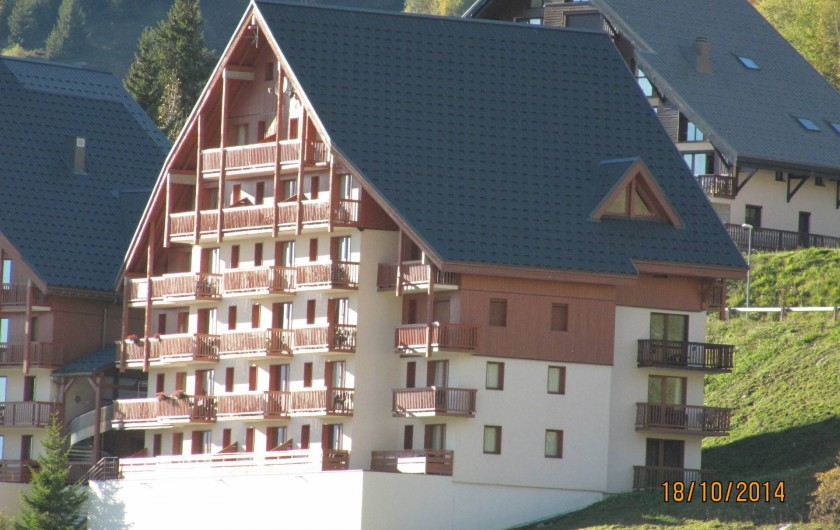 Location de vacances - Appartement à Saint-François-Longchamp - LES BALCONS DU SOLEIL L'ETE