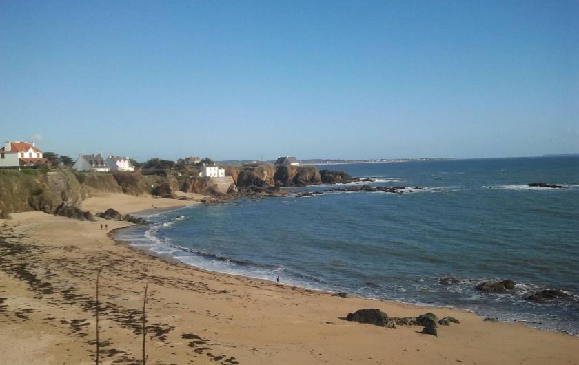 Location de vacances - Gîte à Clohars-Carnoët - plage Le Pouldu