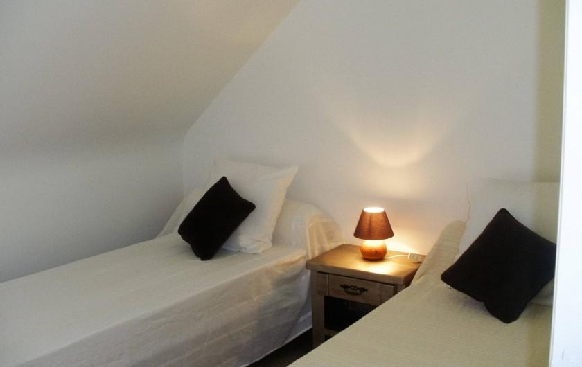 Location de vacances - Gîte à Clohars-Carnoët - chambre 2 jade