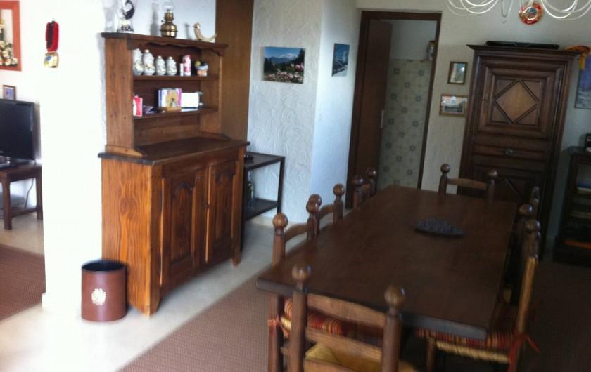 Location de vacances - Appartement à Combloux - Salle à manger 8 places