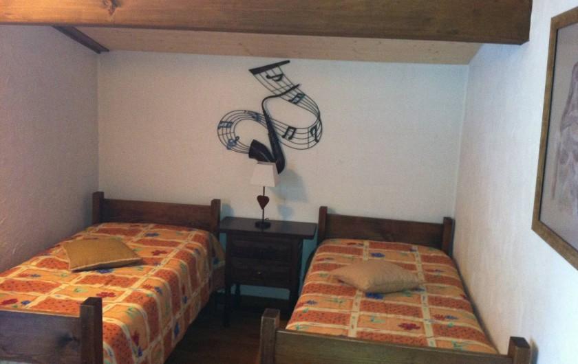 Location de vacances - Appartement à Combloux - Chambre 3