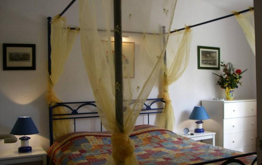 Location de vacances - Villa à Saint-François - Chambre n°2 lit double
