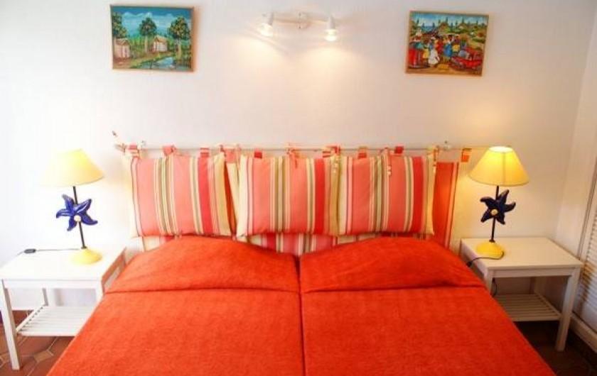 Location de vacances - Villa à Saint-François - Chambre n°1 deux lits