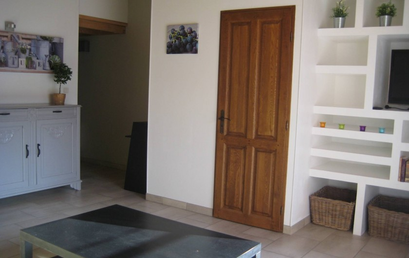 Location de vacances - Appartement à Courthézon - salon