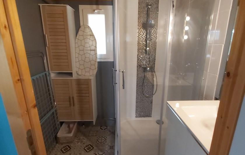 Location de vacances - Chalet à Agde - sale de bain