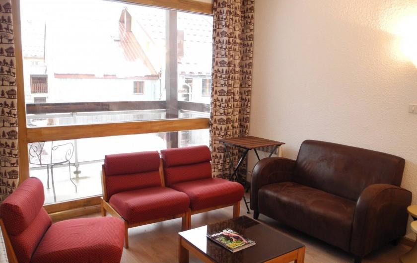 Location de vacances - Appartement à Mijoux - salon