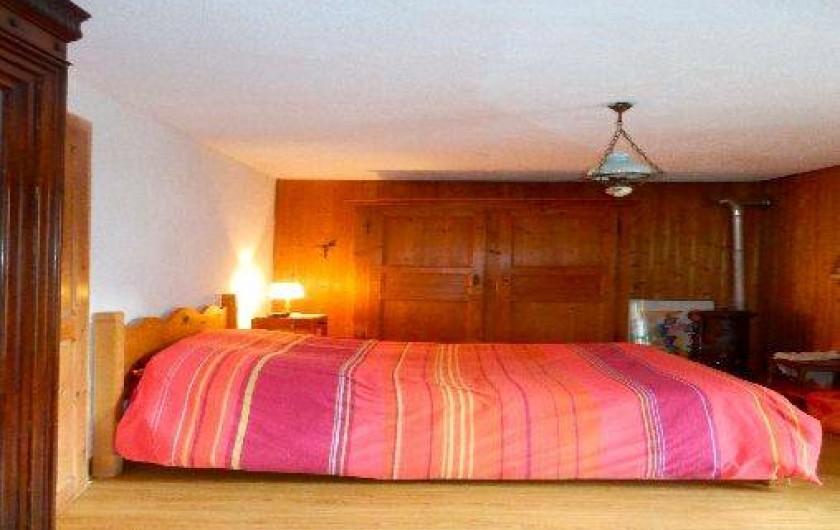 Location de vacances - Appartement à Saint-Nicolas de Véroce - Chambre 3