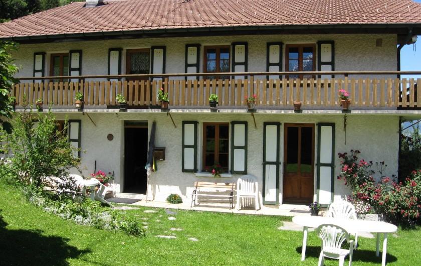 Location de vacances - Appartement à Saint-Nicolas de Véroce