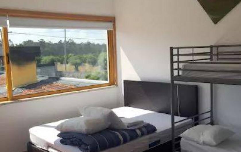 Location de vacances - Villa à Santo André - 1 lit double, 1 lit superposé et 1 lit simple