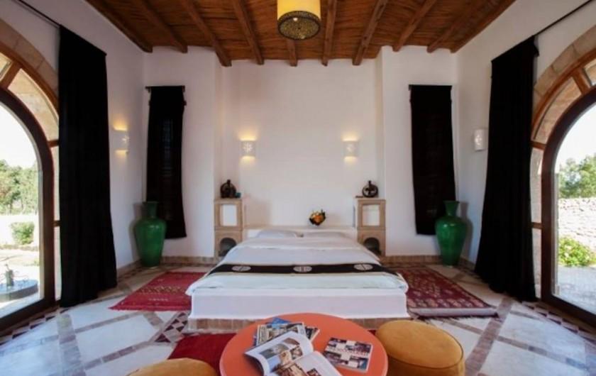 Location de vacances - Villa à Essaouira - Chambre de la grande suite