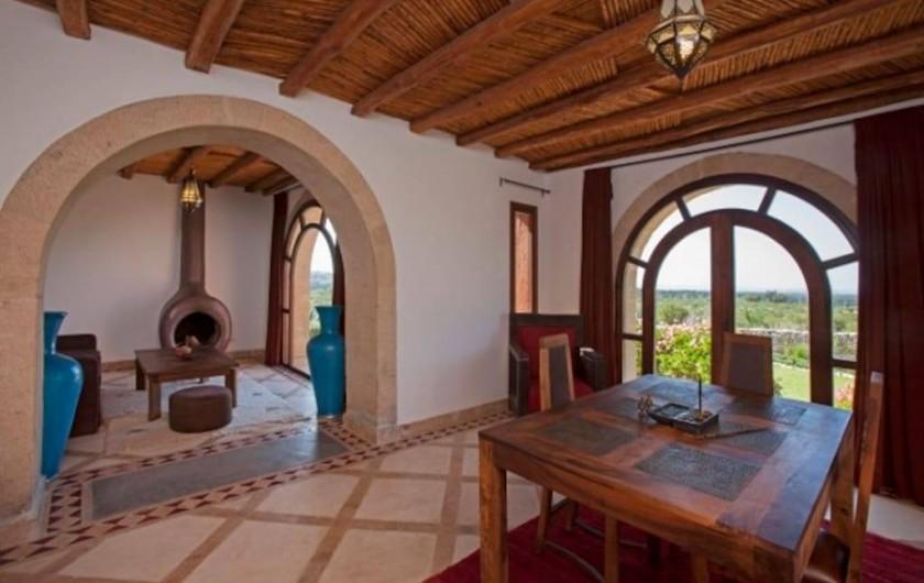 Location de vacances - Villa à Essaouira - Salon de la grande suite