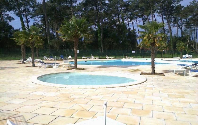 Location de vacances - Chalet à Ondres - Pataugeoire
