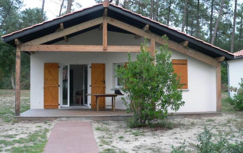 Location de vacances - Chalet à Ondres - Vue du