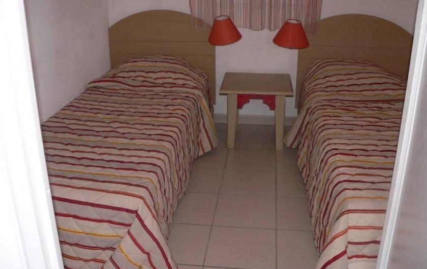Location de vacances - Chalet à Ondres - 2eme chambre