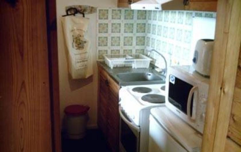 Location de vacances - Appartement à Super Besse - cuisine