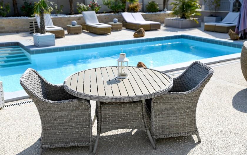 Location de vacances - Chambre d'hôtes à Villechétif - CHAMBRE CHARME