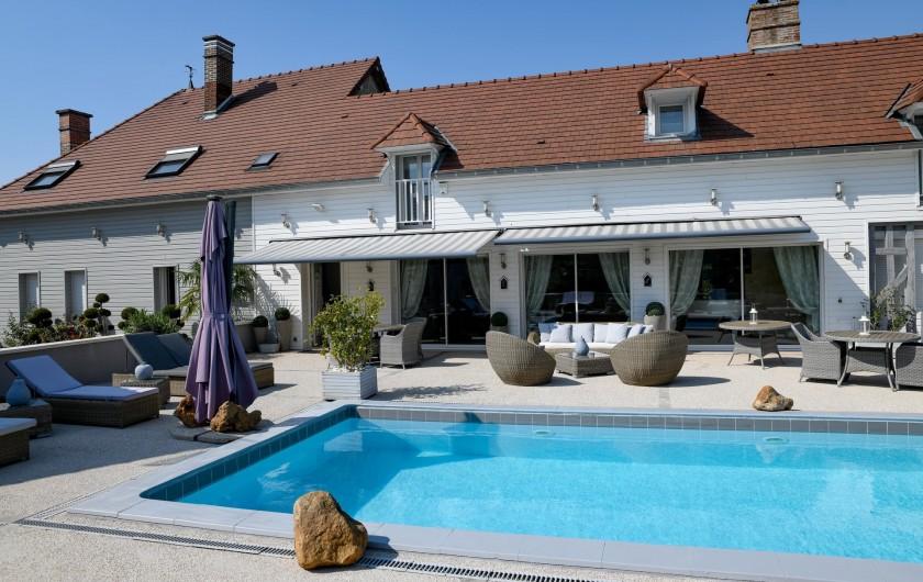 Location de vacances - Chambre d'hôtes à Villechétif - CHAMBRE ROSE