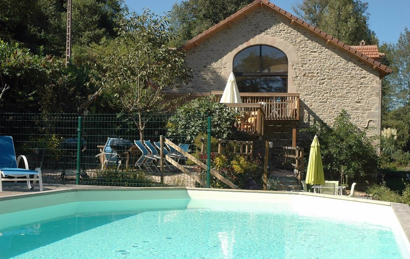 Location de vacances - Gîte à Saint-Perdoux - Le Moulin du Buffan