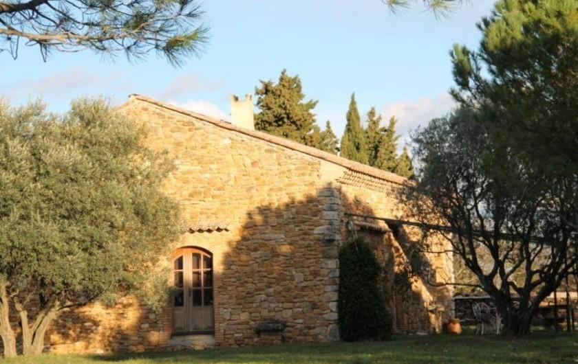 Location de vacances - Maison - Villa à Saint-André-d'Olérargues - De l'entrée de la propriété