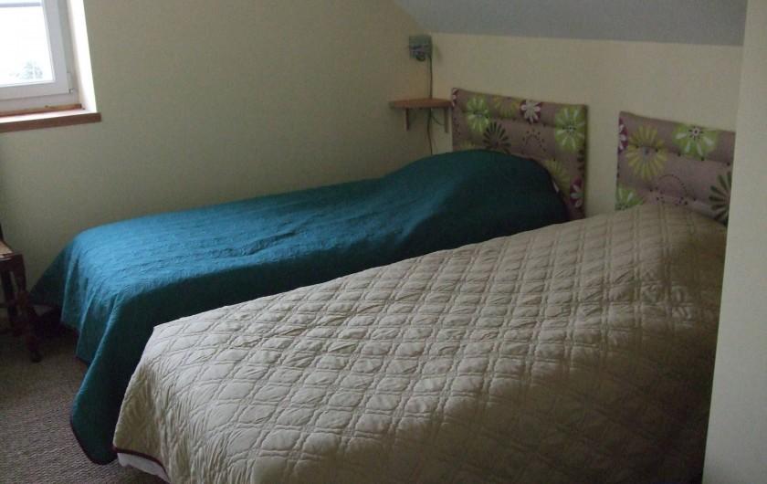 Location de vacances - Gîte à Châgnon - 2eme chambre