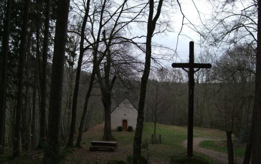 Location de vacances - Gîte à Châgnon - chapelle de Faubouloin
