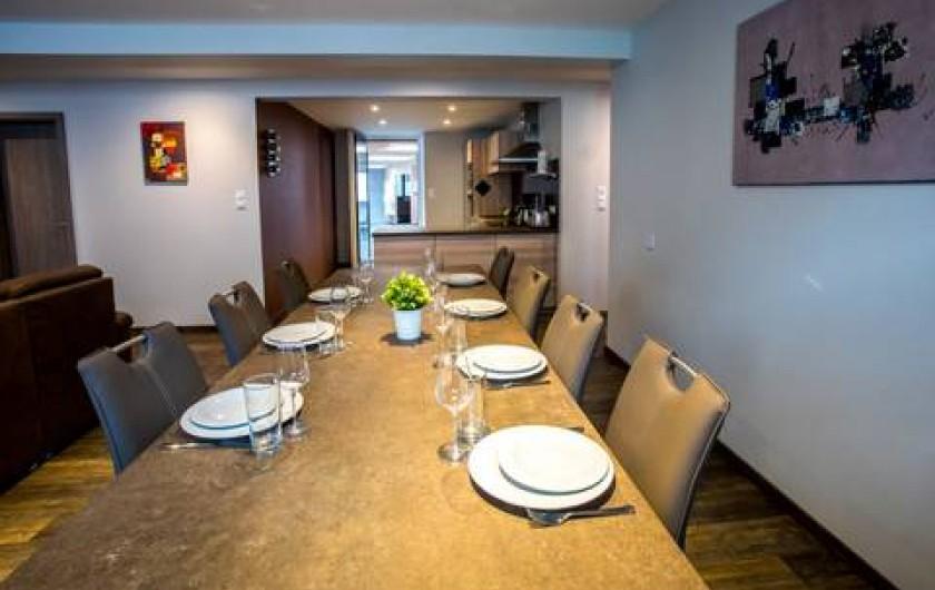 Location de vacances - Appartement à Katzenthal - SÉJOUR CUISINE