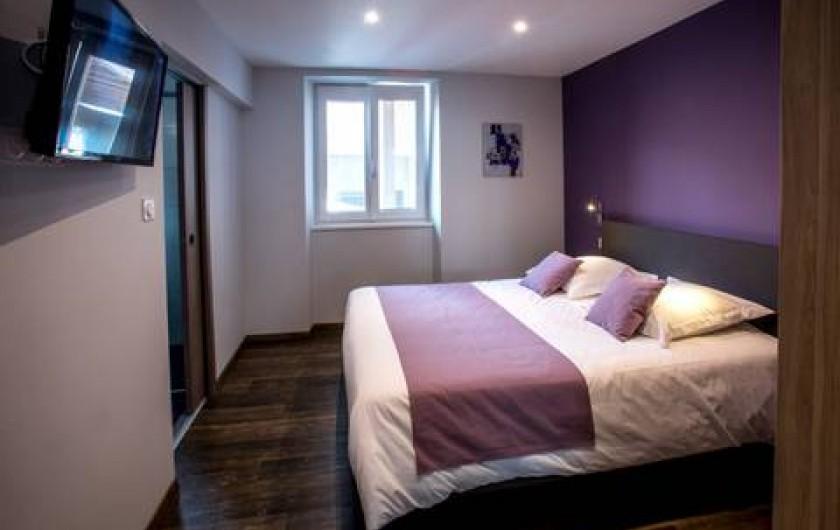 Location de vacances - Appartement à Katzenthal - CHAMBRE 2  AVEC SALLE D'EAU PRIVATIVE