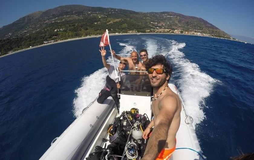 Location de vacances - Bungalow - Mobilhome à Monforte San Giorgio - Nos moniteurs de plongée