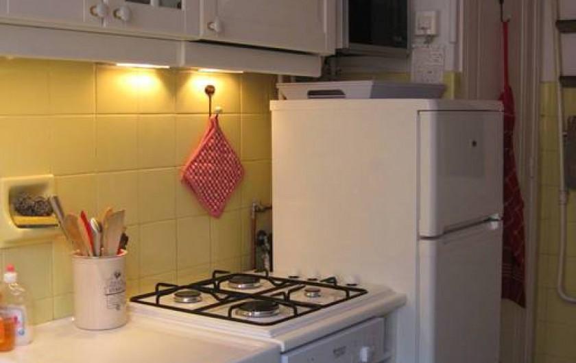 Location de vacances - Appartement à Nice - Cuisine