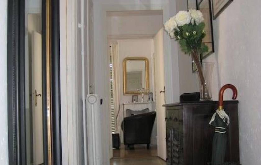Location de vacances - Appartement à Nice - Hall