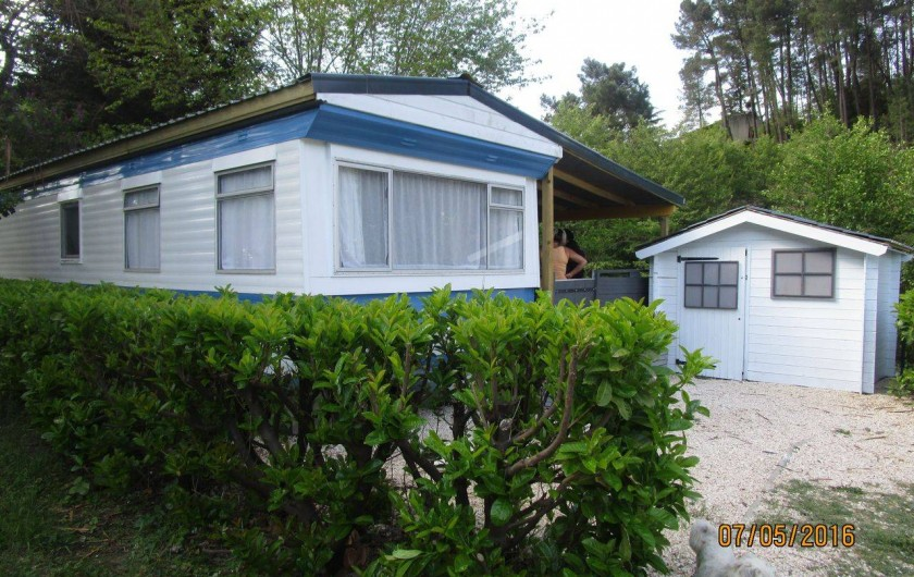 Location de vacances - Bungalow - Mobilhome à Le Martinet