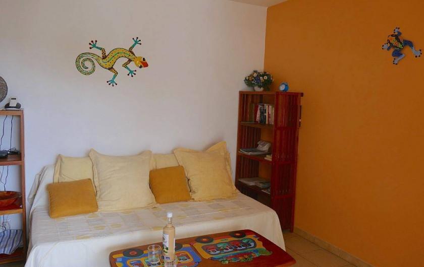 Location de vacances - Appartement à Pointe du Bout - Canapé-lit