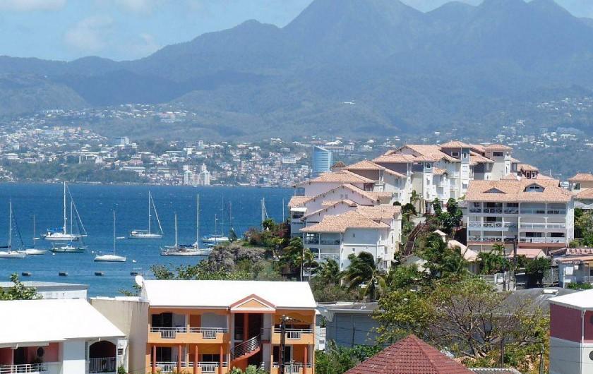 Location de vacances - Appartement à Pointe du Bout - La résidence La Pointe entre mer et montagne