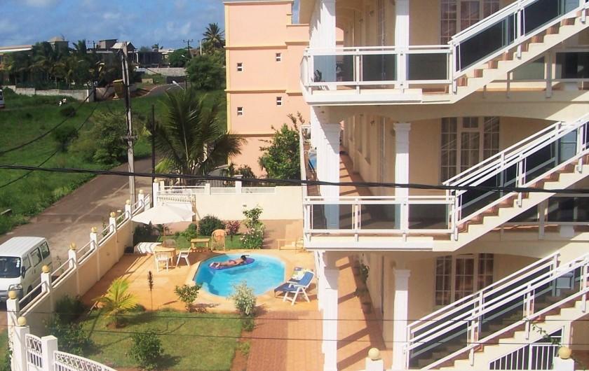 Location de vacances - Appartement à Pointe aux Piments