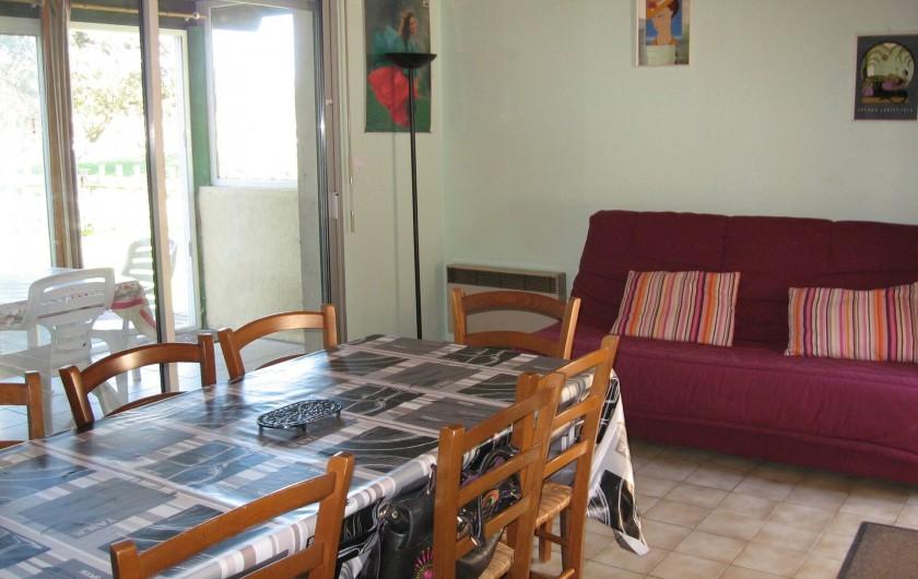 Location de vacances - Villa à Vieux-Boucau-les-Bains - Canapé lit