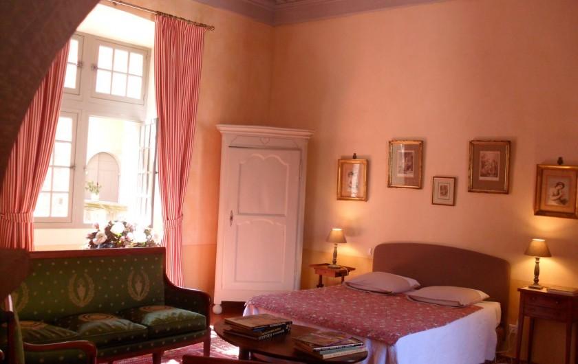 Location de vacances - Château - Manoir à Pégairolles-de-l'Escalette - Chambre Bonne Maman
