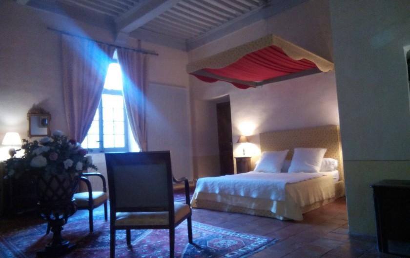 Location de vacances - Château - Manoir à Pégairolles-de-l'Escalette - Chambre Tante Maguite