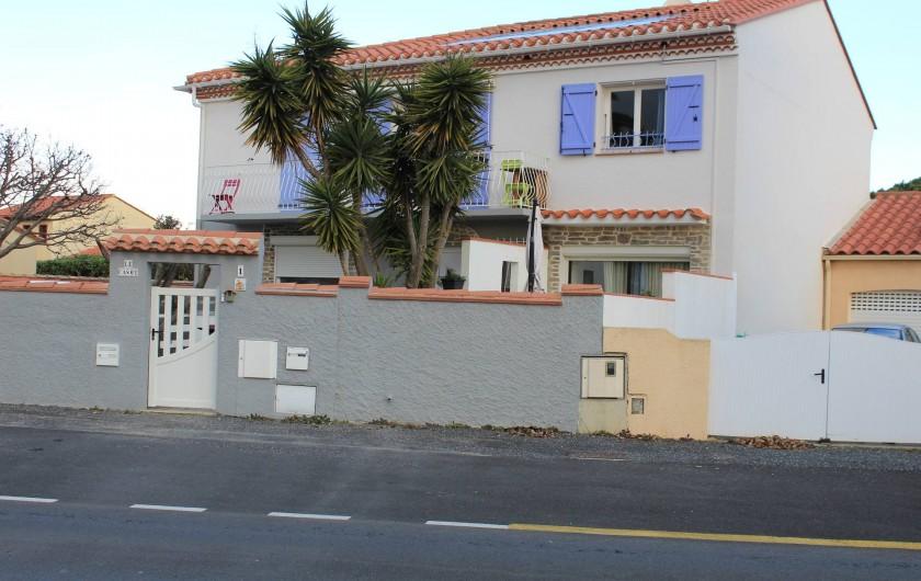 Location de vacances - Appartement à Canet-en-Roussillon - VILLA VUE DE LA RUE