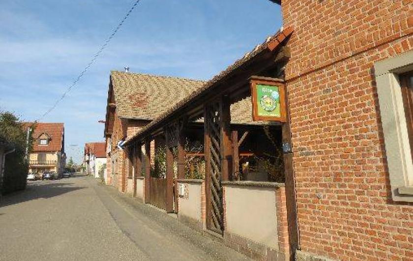 Location de vacances - Gîte à Mittelhausen