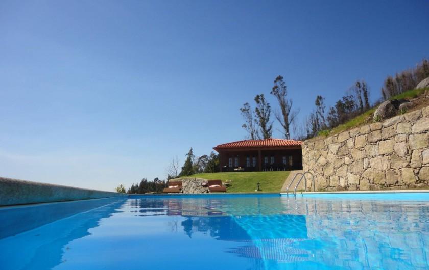 Location de vacances - Maison - Villa à Anais - Vue Piscine