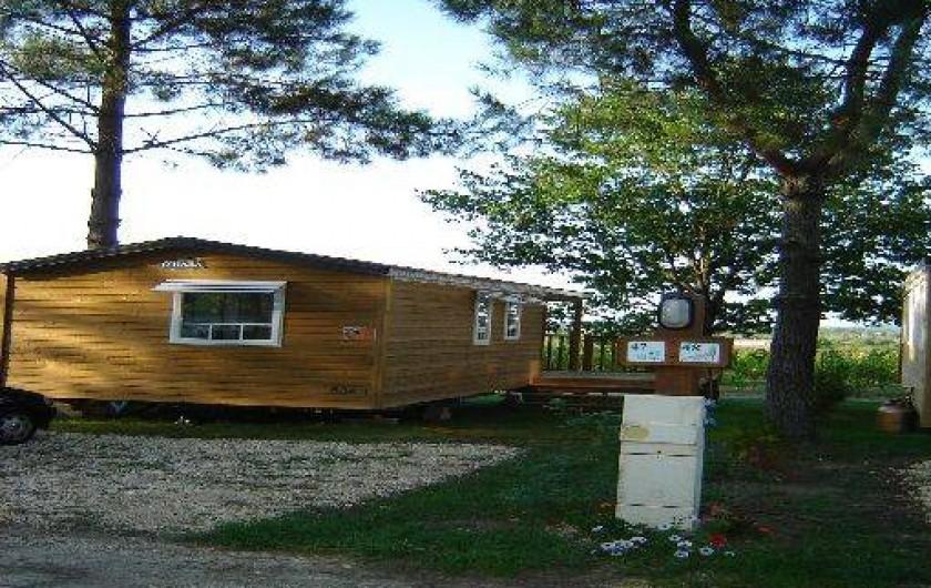 Location de vacances - Camping à Petit-Palais-et-Cornemps