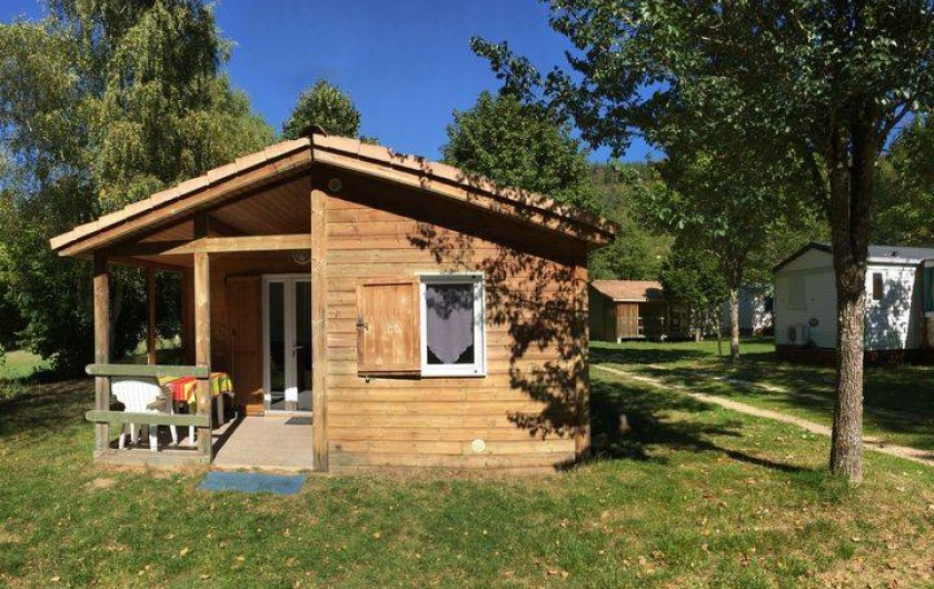 Location de vacances - Camping à Grandrieu - Chalet Érable