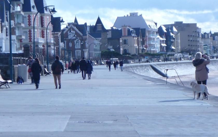 Location de vacances - Studio à Saint-Coulomb - ST Malo Promenade sur le sillon