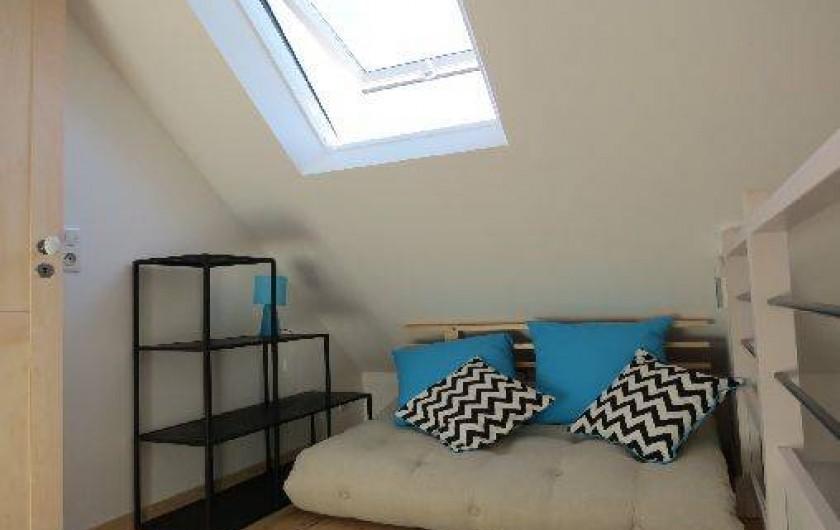 """Location de vacances - Gîte à Le Crotoy - pallier avec """"futon"""" convertible pour 2 personnes"""