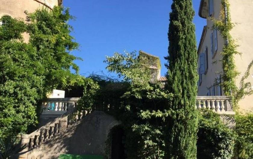 Location de vacances - Chambre d'hôtes à Saint-Félix-de-Pallières - Vue