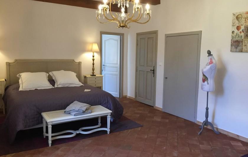 Location de vacances - Chambre d'hôtes à Saint-Félix-de-Pallières - Chambre Cyprès