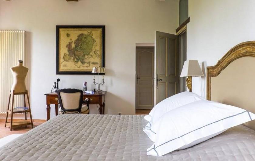 Location de vacances - Chambre d'hôtes à Saint-Félix-de-Pallières - Chambre Chêne